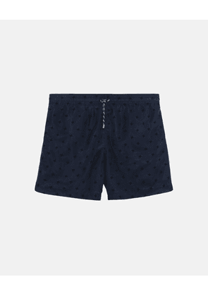 Stella McCartney Blue Medium-length Embroidery Swim Shorts, Men's, Size 30