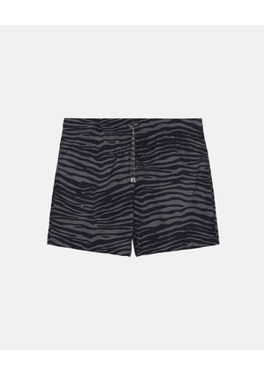 Stella McCartney Navy Medium-length Printed Swim Shorts, Men's, Size 30