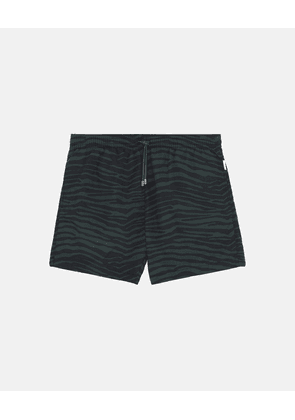 Stella McCartney Green Medium-length Printed Swim Shorts, Men's, Size 30