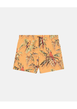 Stella McCartney Pecan Medium-length Paradise Print Swim Shorts, Men's, Size 32