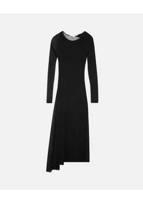 Stella McCartney Black Black Knit Dress, Women's, Size 6