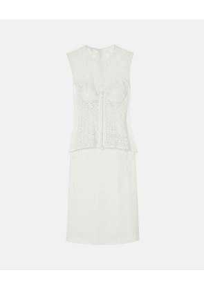 Stella McCartney White Ellen Dress, Women's, Size 8
