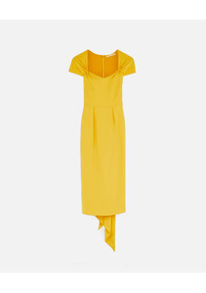 Stella McCartney Yellow Angie Dress, Women's, Size 10