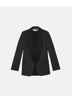 Stella McCartney Black Mathilda Jacket, Women's, Size 6