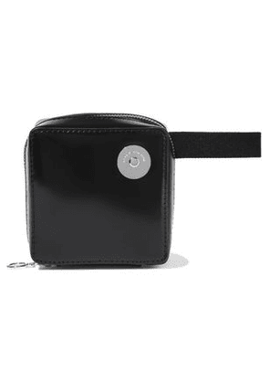 Kara Woman Void Glossed-leather Belt Bag Black Size -