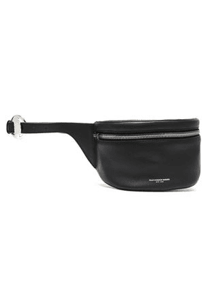 Alexander Wang Woman Leather Belt Bag Black Size -