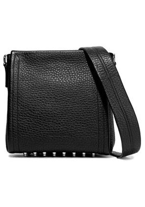 Alexander Wang Woman Darcy Textured-leather Shoulder Bag Black Size -