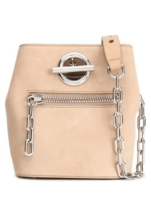 Alexander Wang Woman Suede Bucket Bag Beige Size -