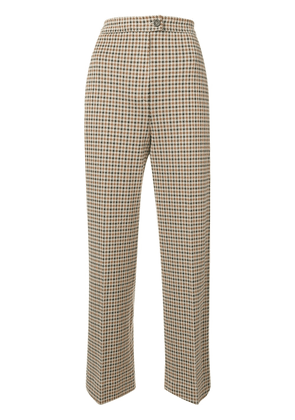 Moncler houndstooth trousers - Neutrals