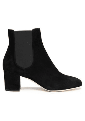 Dolce & Gabbana Woman Suede Ankle Boots Black Size 35