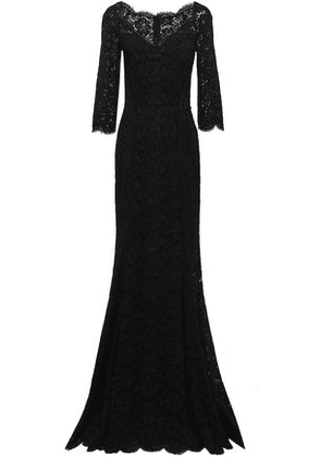 Dolce & Gabbana Woman Corded Lace Gown Black Size 42