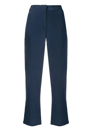 Eleventy tailored cropped trousers - Blue