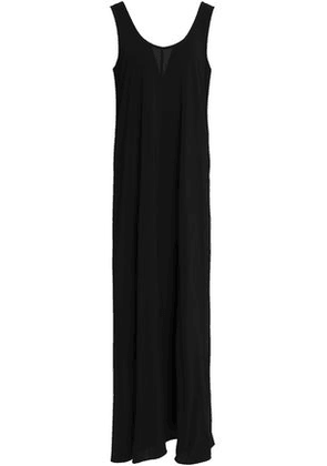 Vince. Woman Jersey Maxi Dress Black Size M