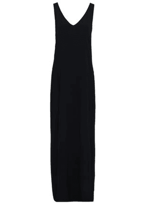 Rosetta Getty Woman Crepe Maxi Dress Black Size 6