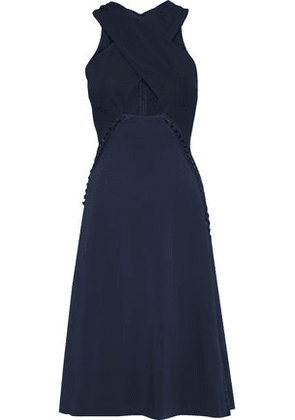 Jonathan Simkhai Woman Knee Length Dress Navy Size 6