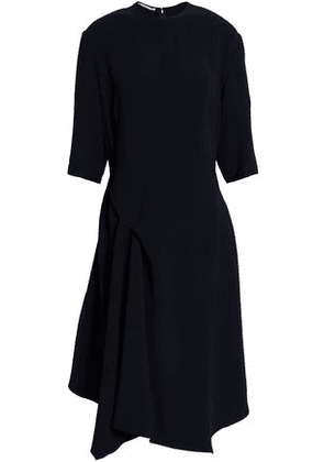 Stella Mccartney Woman Stretch-crepe Dress Midnight Blue Size 44