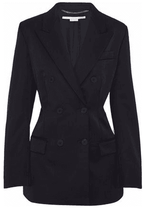 Stella Mccartney Woman Double-breasted Wool Blazer Black Size 42
