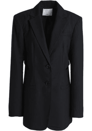 Tibi Woman Cutout Wool Blazer Black Size 8