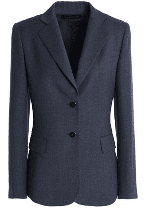 Vanessa Seward Woman Wool Blazer Storm Blue Size 36