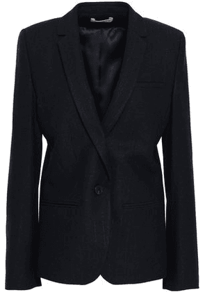 Ba & sh Woman Brushed-twill Blazer Midnight Blue Size 0