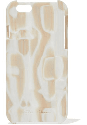 Rick Owens Woman Printed Acrylic Iphone 6 Case Beige Size -