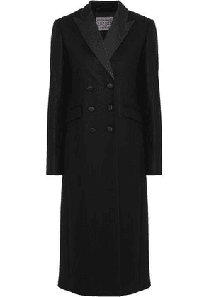 Alexachung Woman Double-breasted Wool And Cashmere-blend Coat Black Size 14