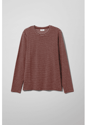 Towel Stripe Long Sleeve - Red