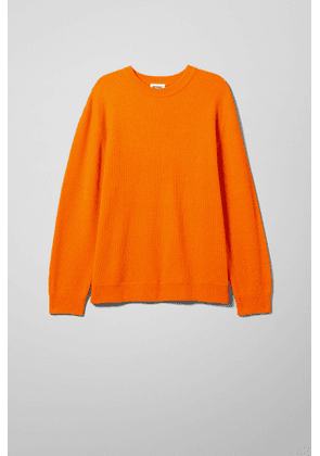 Smyth Rib Sweater - Orange