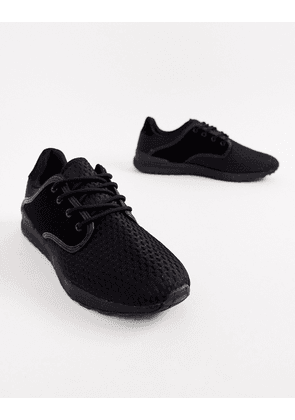Brave Soul Breckham Trainers In Black