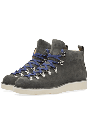 Fracap M120 Cristy Vibram Sole Scarponcino Boot Charcoal Suede