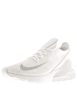 Nike Air Max 270 Fly knit Trainers White