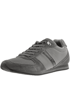 Versace Jeans Logo Trainers Grey