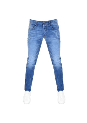 G Star Raw 3301 Slim Jeans Blue