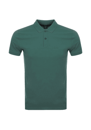 BOSS HUGO BOSS Pallas Polo T Shirt Green