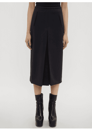 Atlein Front Slit Tailored Skirt in Navy size FR - 36