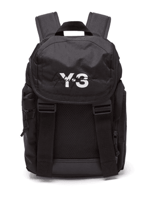 Y-3 - Xs Mobility Logo Print Backpack - Mens - Black