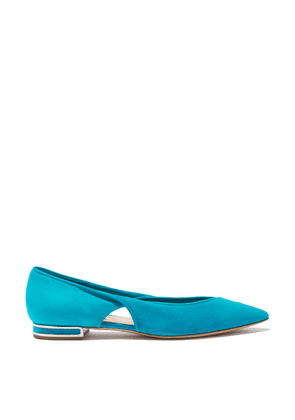 Casadei Flats Women - Twisted Ariel Suede 37,5