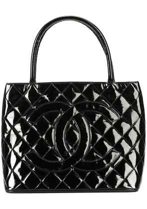 Chanel Vintage CC quilted tote bag - Black