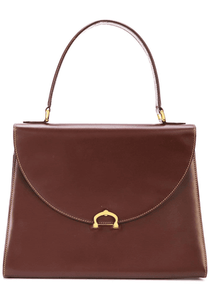 Cartier Vintage top handle satchel bag - Brown