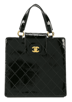 Chanel Vintage top handle tote bag - Black