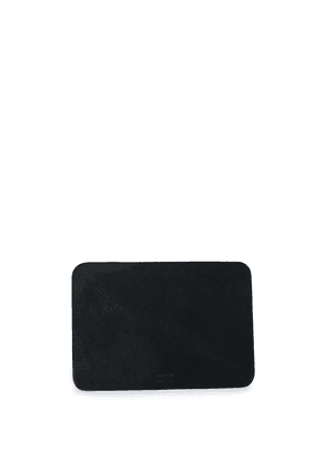 Isaac Reina leather mouse pad - Black