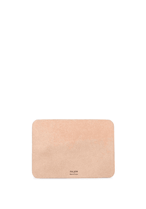 Isaac Reina leather mouse pad - Neutrals