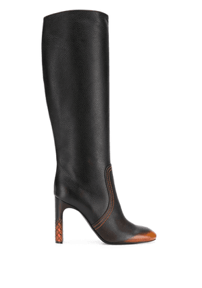 Bottega Veneta knee-high boots - Brown