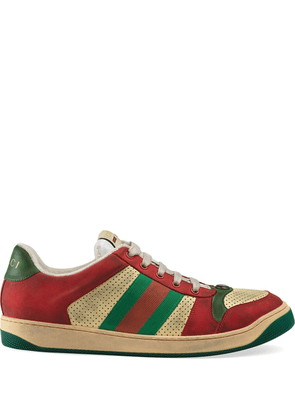 Gucci Screener leather sneakers - Red
