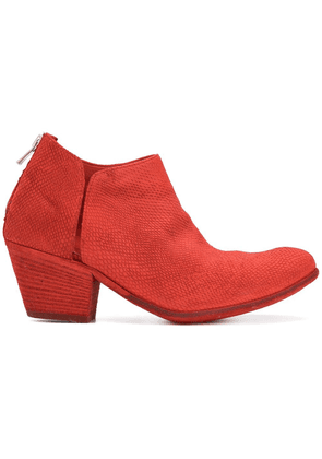 Officine Creative Giselle ankle boots - Red