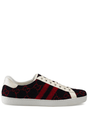 Gucci Ace GG wool sneakers - Blue