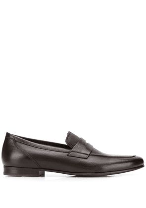 Henderson Baracco classic penny loafers - Brown