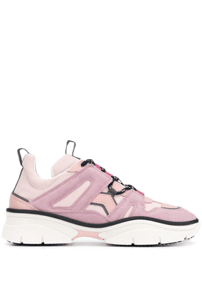 Isabel Marant panelled sneakers - Pink