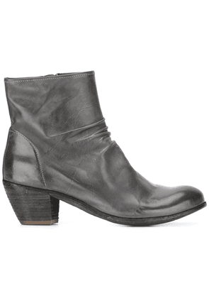Officine Creative Chabrol zip ankle boots - Grey