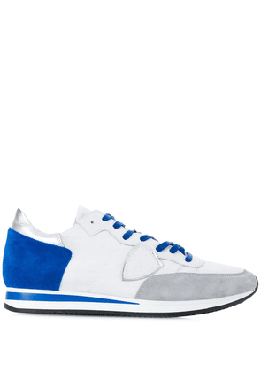 Philippe Model panelled sneakers - White